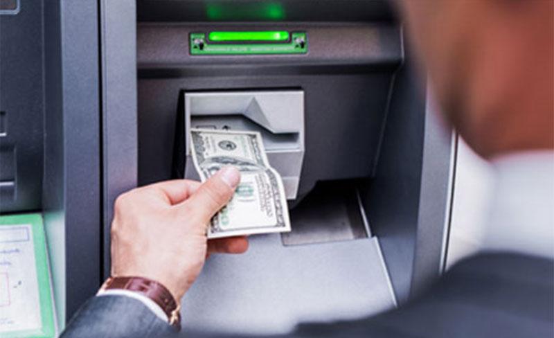 Tarjeta para el cajero automático de IBC Bank