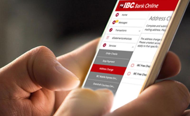 Características de seguridad de IBC Bank Online
