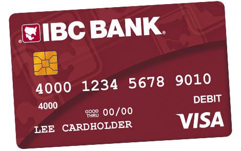IBC Bank Tarjeta de débito Visa IBC Bank