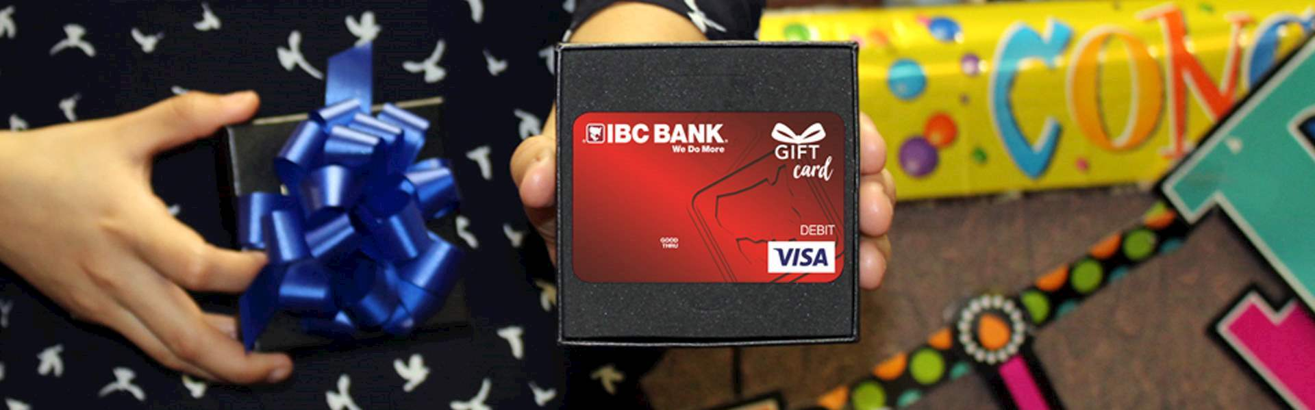 Tarjeta de Regalo Visa IBC del Banco IBC