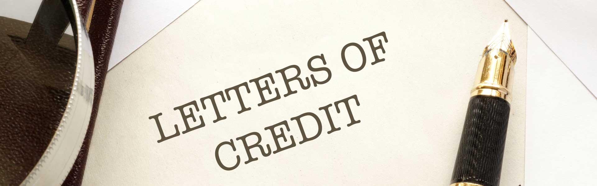 Cartas de crédito del IBC Bank