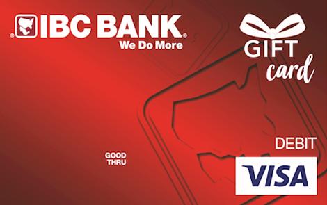 IBC Bank Tarjeta de regalo Visa de IBC