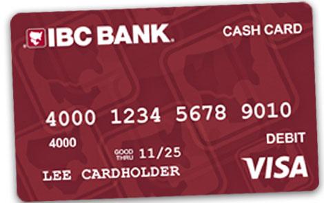 IBC Bank Tarjeta de efectivo Visa de IBC Bank