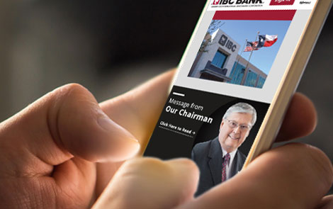 Mobile Website - IBC Bank