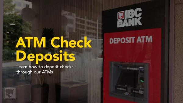 ATM Check Deposits