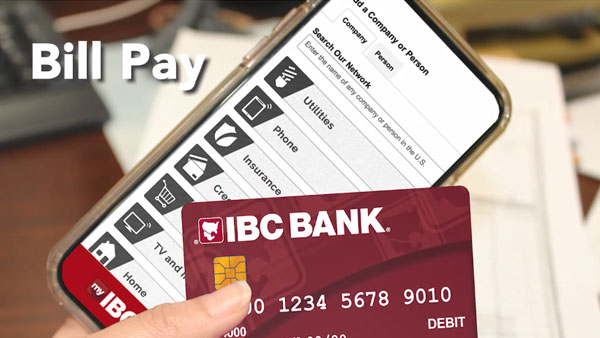 How to Use Bill Pay in Your IBC Bank App