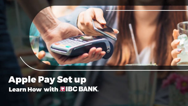 IBC Bank + Apple Pay