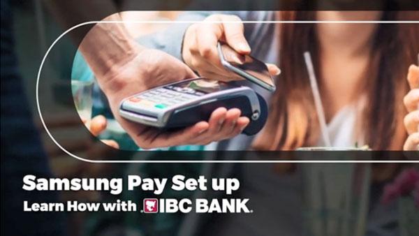 IBC Bank + Samsung Pay