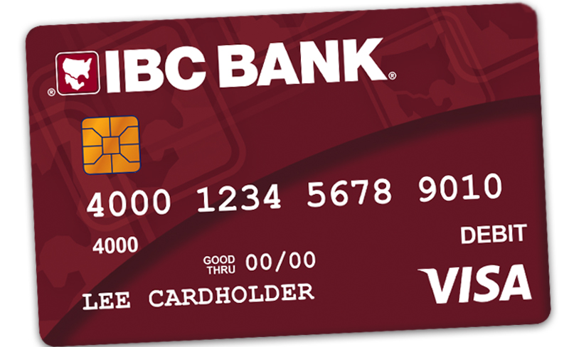 IBC Bank Visa Business Debit Card