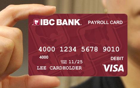 IBC Bank Payroll Cards