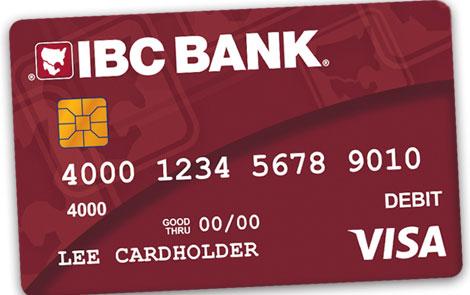 IBC Bank IBC Bank Visa Business Debit Card