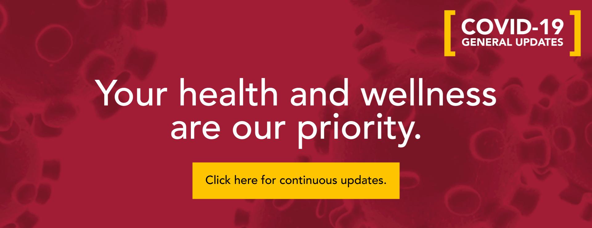 March 2020 - Coronavirus