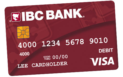 IBC Bank IBC Bank Visa Debit Card