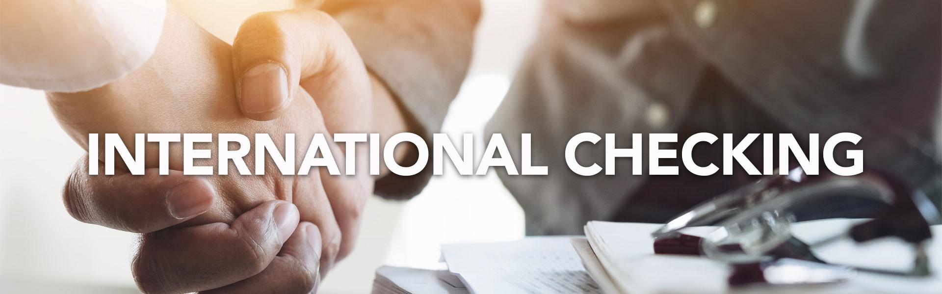 IBC Bank International Checking Guide