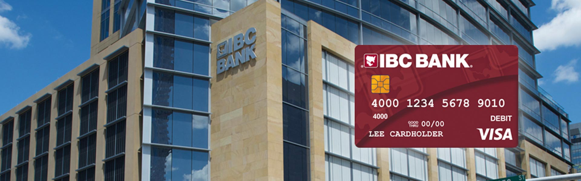 IBC Bank Visa Debit Card