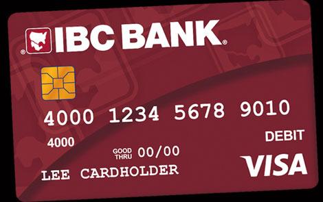 IBC Bank IBC Bank Visa Debit Card