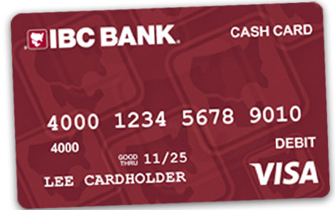 IBC Bank IBC Bank Visa Cash Card